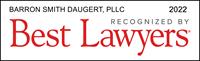 best-lawyers-award-barron-smith-daugert-2022